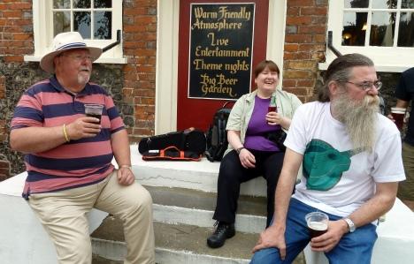 Pratts Bottom 2014 - Chris, Jeanette & Rufus