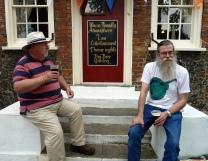 Pratts Bottom 2014 - Chris & Rufus