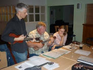 Club Night 22/09/09 - Strumming from our new song book. Thanks James