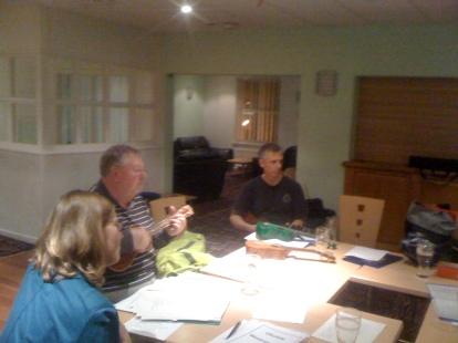 Club Night Feb 2010 - Julia, Chris & James