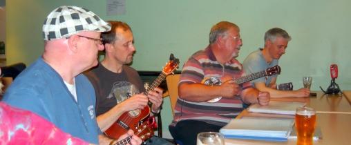Bonza Club Night 2012 - John, Colin, Chris & James