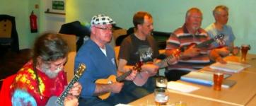 Bonza Club Night 2012 - Rufus, John, Colin, Chris & James