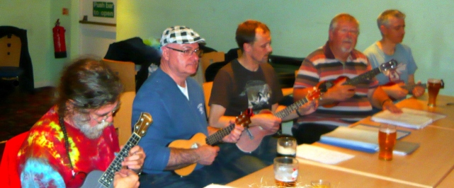 Bonza Club Night 2012 - Rufus, John, Colin, Chris & James
