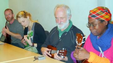Bonza Club Night 2012 - Steve, Katie, Colvin & Jacqueline