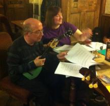 Xmas Strumalong 2012 - Ron & Jeanette