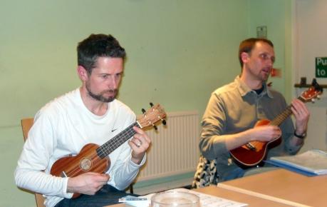 PLUC Club Night Jan 2013 - Adrian & Colin