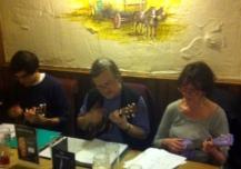 Xmas Strumalong 2012 - Daniel, Andrew & Mary