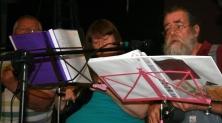 Pratts Bottom 2013 04 - Chris, Jeanette & Rufus