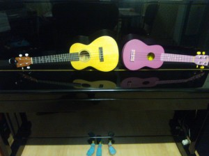 Tina's Two Ukuleles
