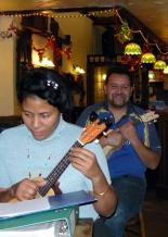 Xmas Strumalong 2013 - 09 Tina & Anthony 01