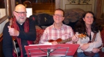 Steve J, Bob & Maria - Xmas 2014