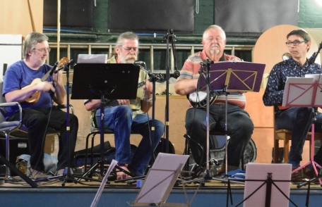 Hither Green Festival 2015 - Andrew, Rufus, Chris & Simon