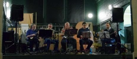 Hither Green Festival 2015 - Andrew, Rufus, Chris, Simon & Colin