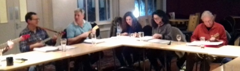 Feb 2016 - Bob, Kev, Emma, Maria & Dave