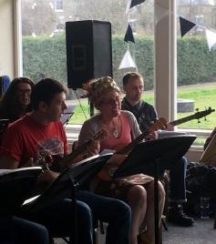 Sheila's 50th - Maria, Simon, Sheila & Colin