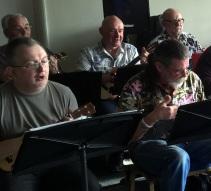 Sheila's 50th - Andrew, Ed, Eddie, Rufus & Steve