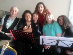 Sheila's 50th - Jos, Tina, Anya, Emma, Jeanette & Maria