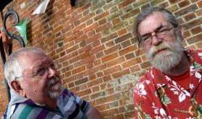 Pratts Bottom 2016 24 - Chris & Rufus