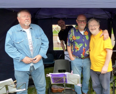 Pratts Bottom 2017 - Chris, Colin, Steve & Andrew