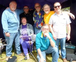 Pratts Bottom 2017 - Chris, Jeanette, Colin, Steve, Andrew, Rufus & Bob