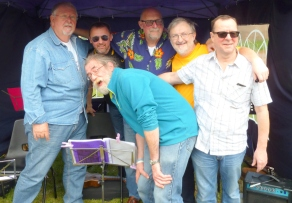 Pratts Bottom 2017 - Chris, Rufus, Colin, Steve, Andrew & Bob