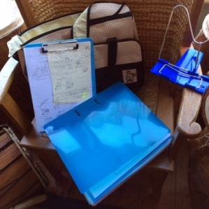 Gail's Essential Equipment - Nappy Carrying Bag, Clipboard, Handy Notes, Ring Binders, Book Stand