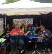 PLUC at Pratts Bottom Village Fete, Sat 12 May 2018