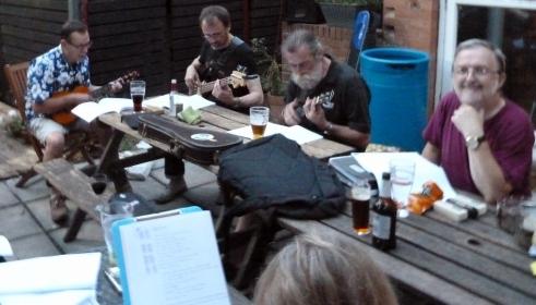 PLUC10 Bob, Colin, Rufus & Andrew