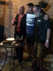 PLUC10 Cake - Dave S, Simon & Rufus 3