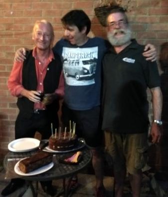 PLUC10 Cake - Dave S, Simon & Rufus 8