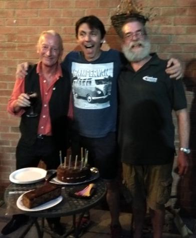 PLUC10 Cake - Dave S, Simon & Rufus 9