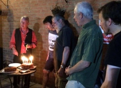 PLUC10 Cake - Dave S, Simon, Rufus, Jos & Colin 2