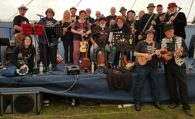 Burton Latimer Ukulele & Drum Group