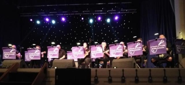 Local Uke Group - A Touch of Purple, led by Stuart Butterworth